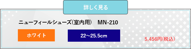 ニューフィールシューズ(室内用) MN-210