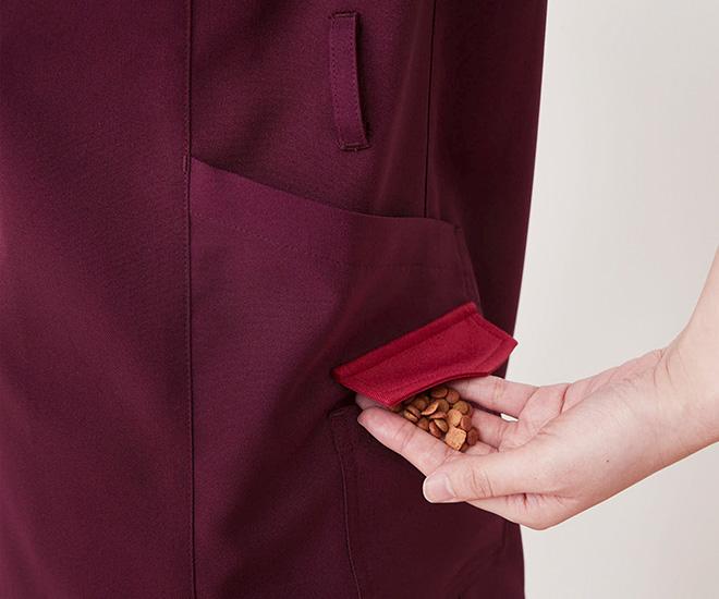 二段ポケット