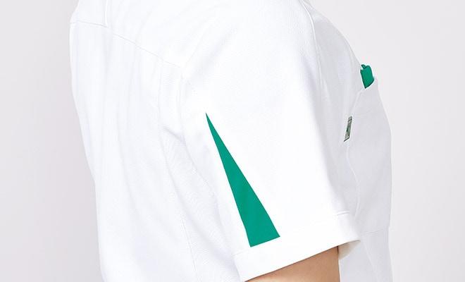袖口後側のデザイン