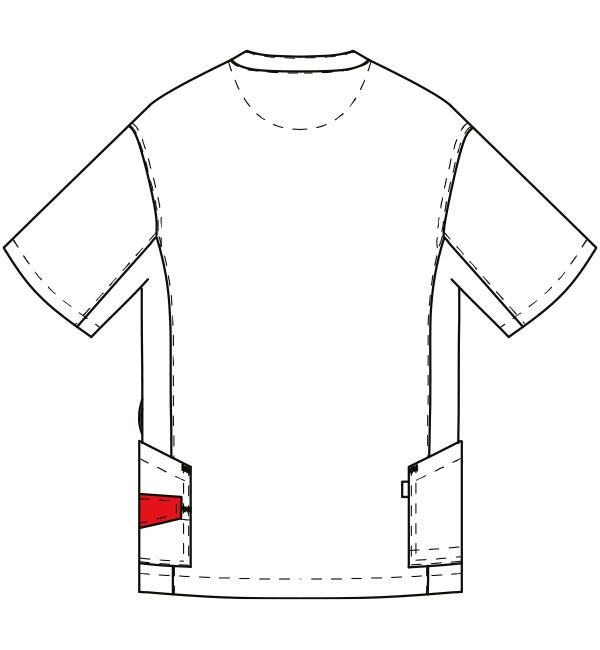 AL-0001 バックスタイルイラスト
