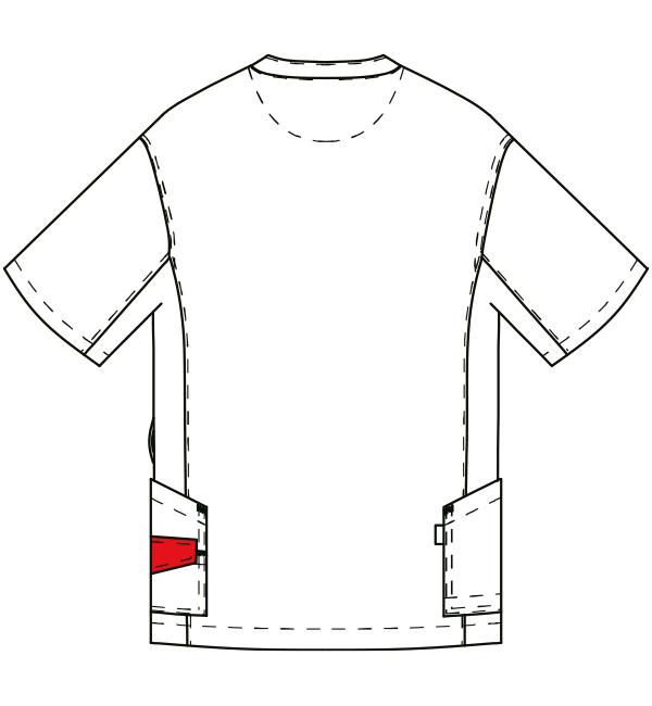 AL-0002 バックスタイルイラスト