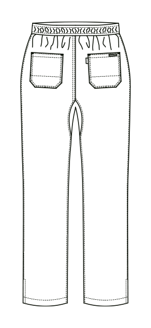AL-0003 バックスタイルイラスト