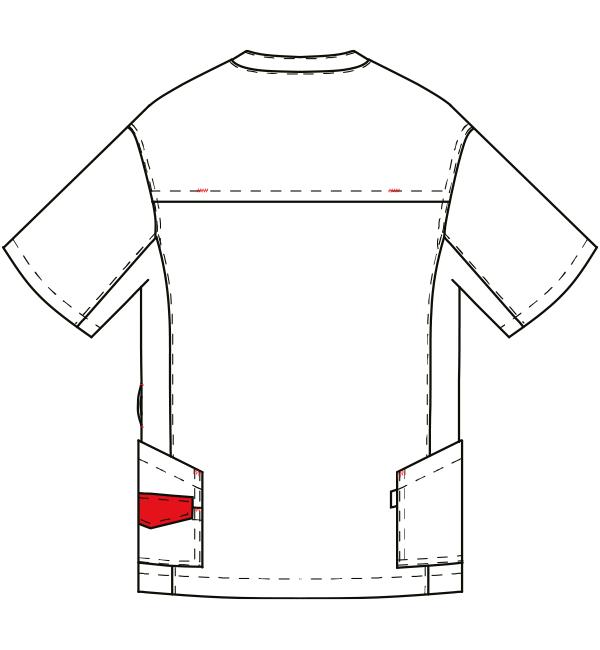 AL-0005 バックスタイルイラスト