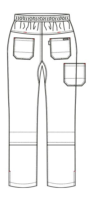 AL-0006 バックスタイルイラスト