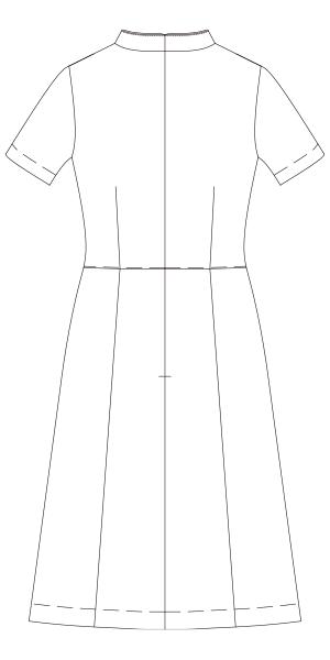 CL-0181 バックスタイルイラスト