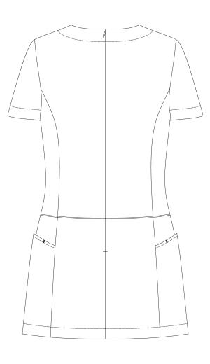 CL-0182 バックスタイルイラスト