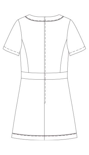 CL-0183 バックスタイルイラスト