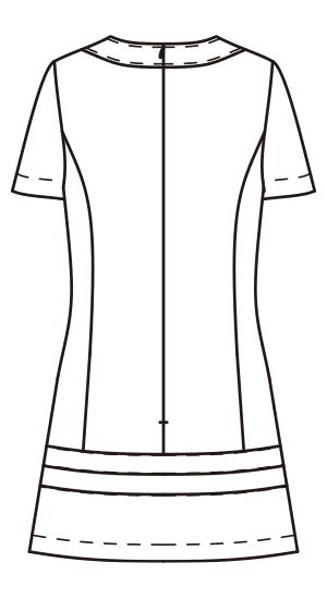 CL-0203 バックスタイルイラスト