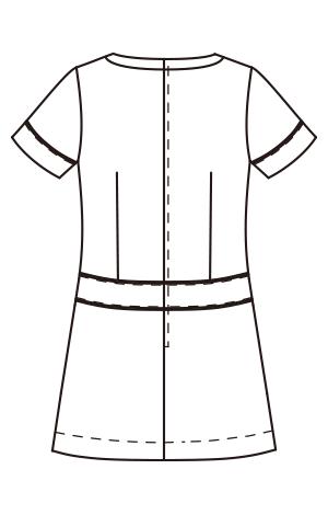 CL-0205 バックスタイルイラスト