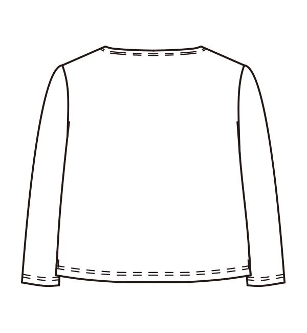 CL-0208 バックスタイルイラスト