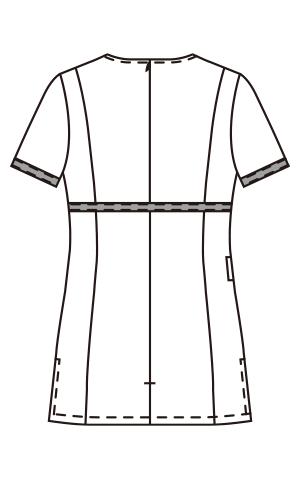 CL-0225 バックスタイルイラスト