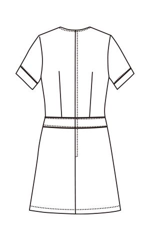 CL-0261 バックスタイルイラスト