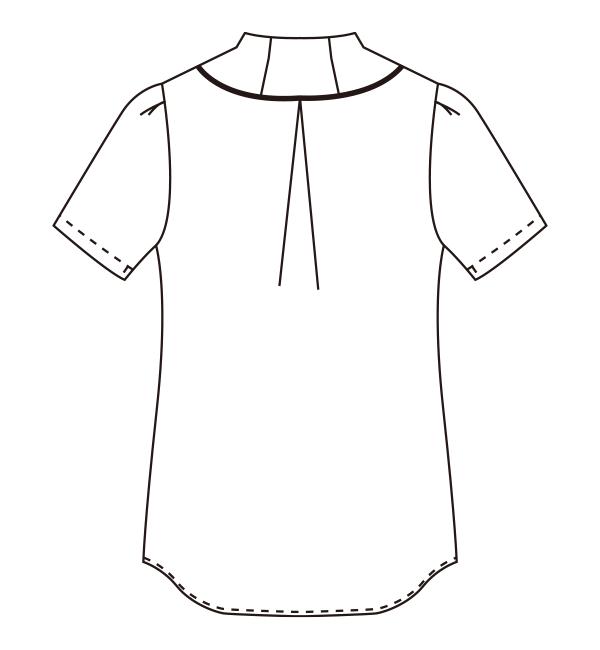 CL-0270 バックスタイルイラスト