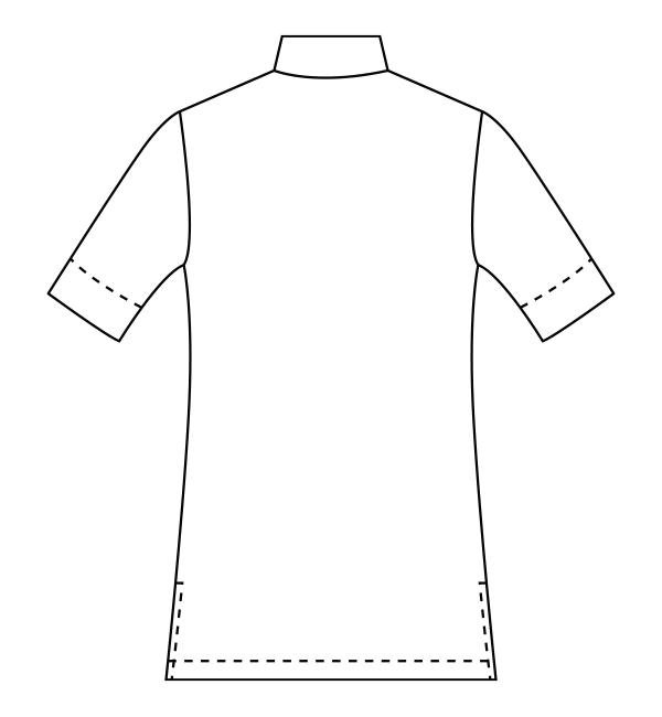 CL-0271 バックスタイルイラスト