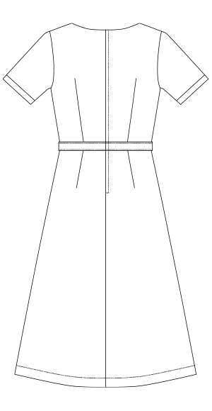 MK-0030 バックスタイルイラスト