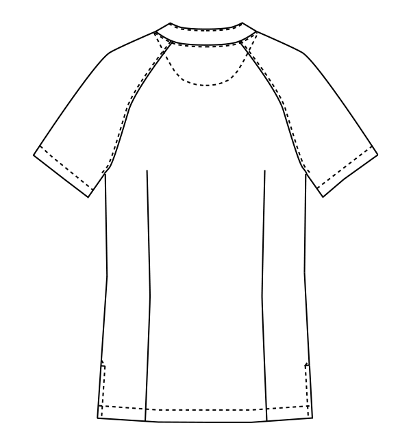 MK-0033 バックスタイルイラスト