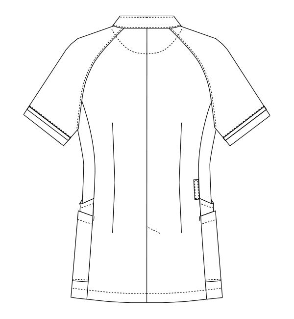MK-0034 バックスタイルイラスト