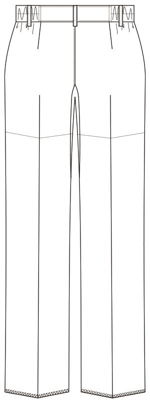 MK-0042 バックスタイルイラスト