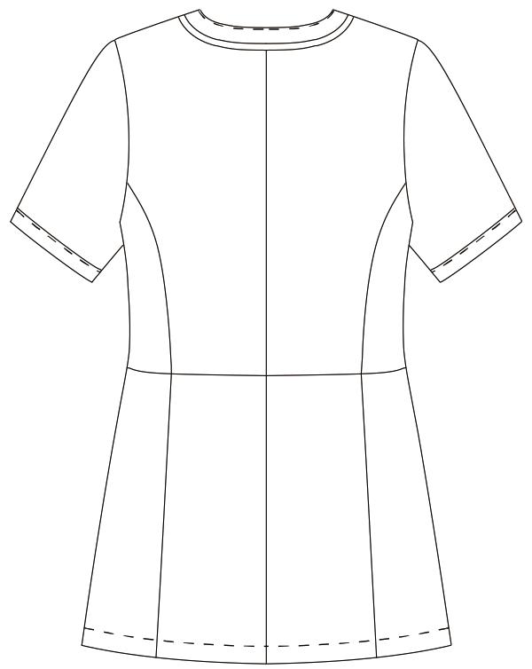 MK-0046 バックスタイルイラスト