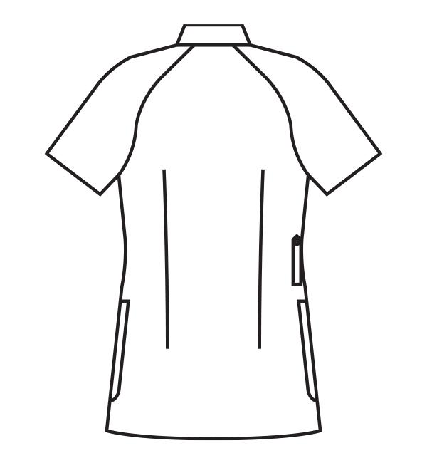 MZ-0048 バックスタイルイラスト