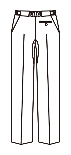 MZ-0071 バックスタイルイラスト