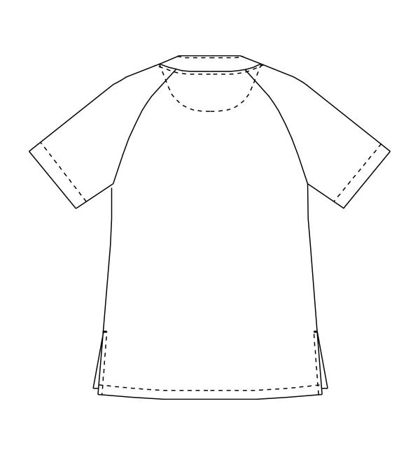 MZ-0124 バックスタイルイラスト