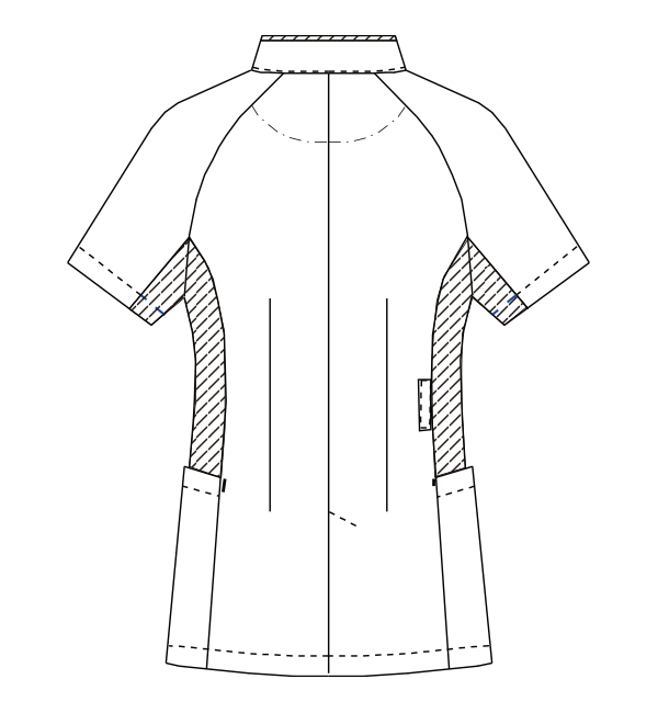 MZ-0128 バックスタイルイラスト