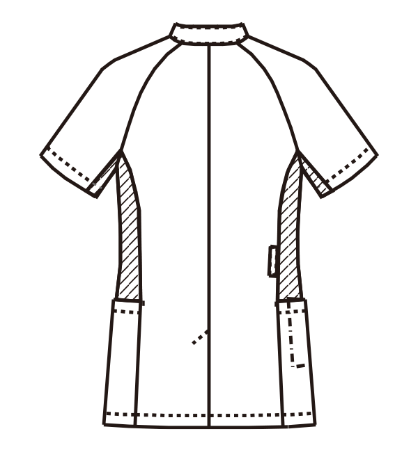 MZ-0129 バックスタイルイラスト