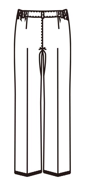 MZ-0152 バックスタイルイラスト