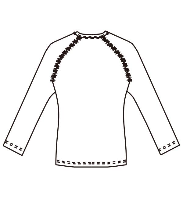 MZ-0154 バックスタイルイラスト