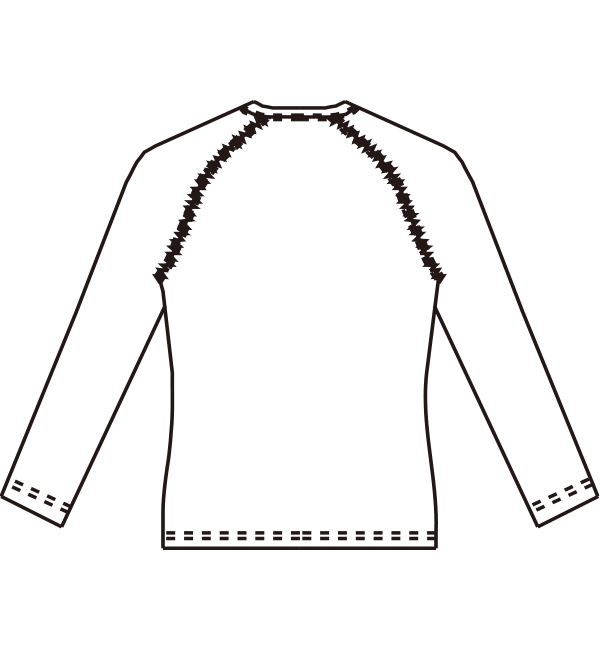 MZ-0155 バックスタイルイラスト