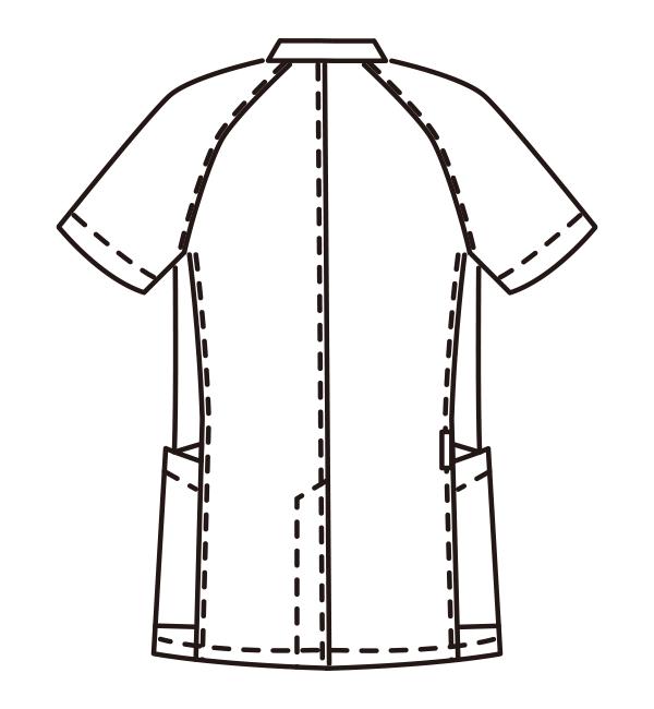 MZ-0161 バックスタイルイラスト