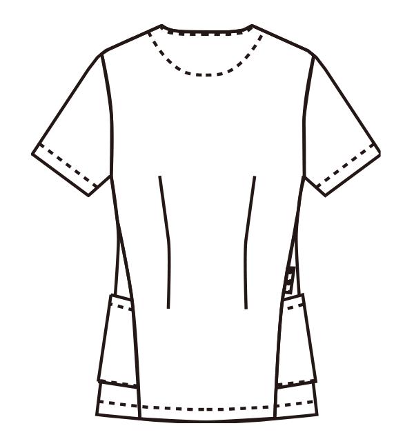 MZ-0165 バックスタイルイラスト