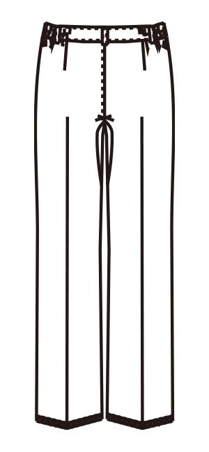 MZ-0166 バックスタイルイラスト
