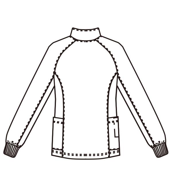 MZ-0168 バックスタイルイラスト