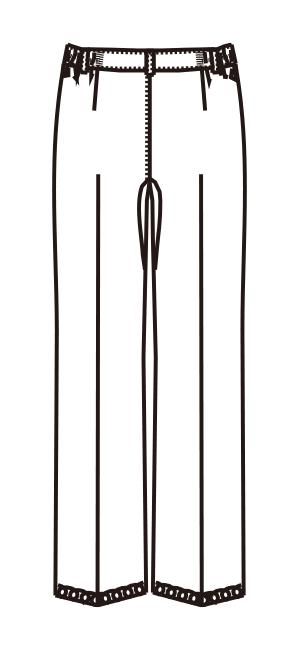 MZ-0177 バックスタイルイラスト