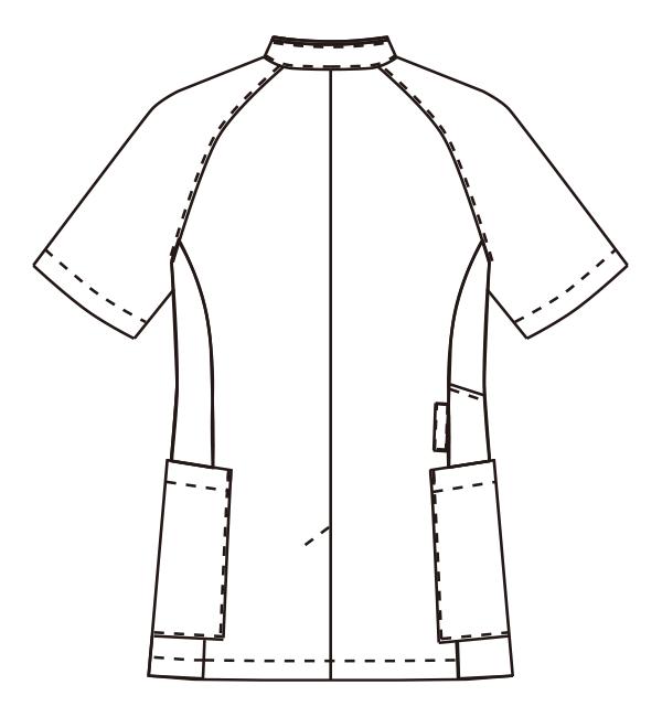 MZ-0184 バックスタイルイラスト