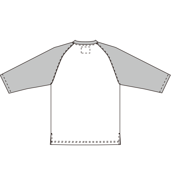 MZ-0196 バックスタイルイラスト