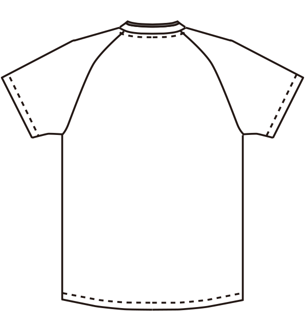 MZ-0198 バックスタイルイラスト