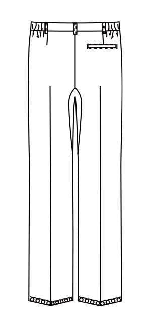 MZ-0203 バックスタイルイラスト