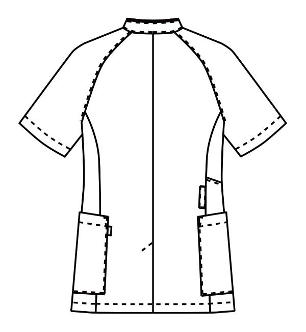 MZ-0211 バックスタイルイラスト