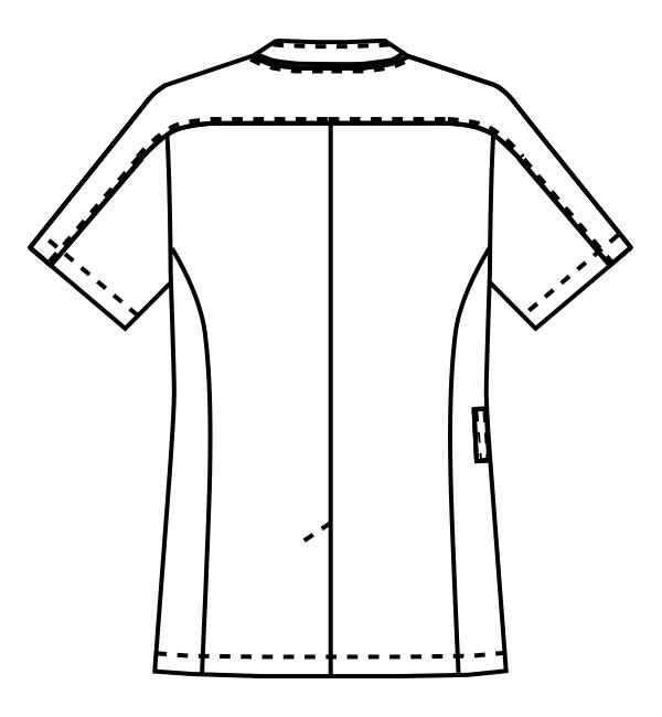 MZ-0214 バックスタイルイラスト