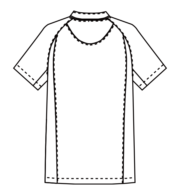 MZ-0215 バックスタイルイラスト