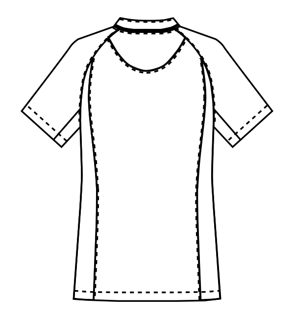 MZ-0218 バックスタイルイラスト