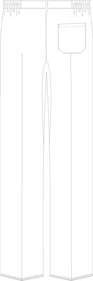 MZ-0242 バックスタイルイラスト
