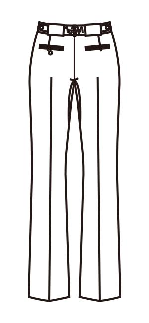 MZ-0087 バックスタイルイラスト