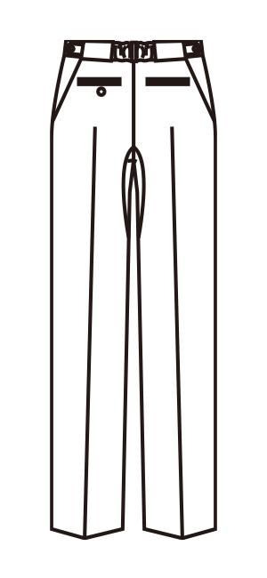 MZ-0088 バックスタイルイラスト