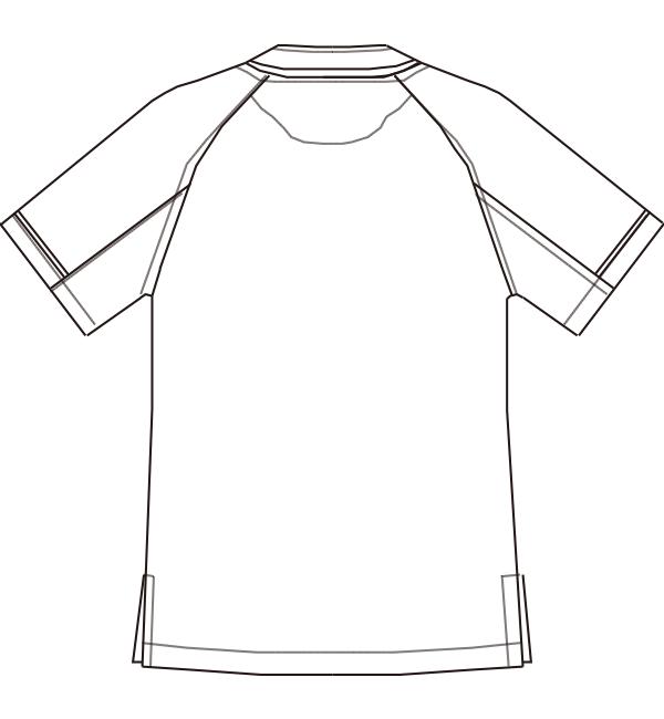 MZ-0092 バックスタイルイラスト
