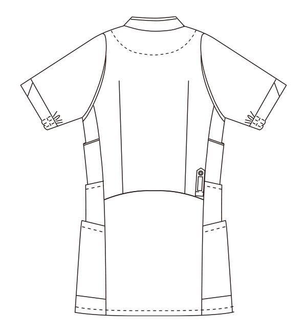 UN-0040 バックスタイルイラスト