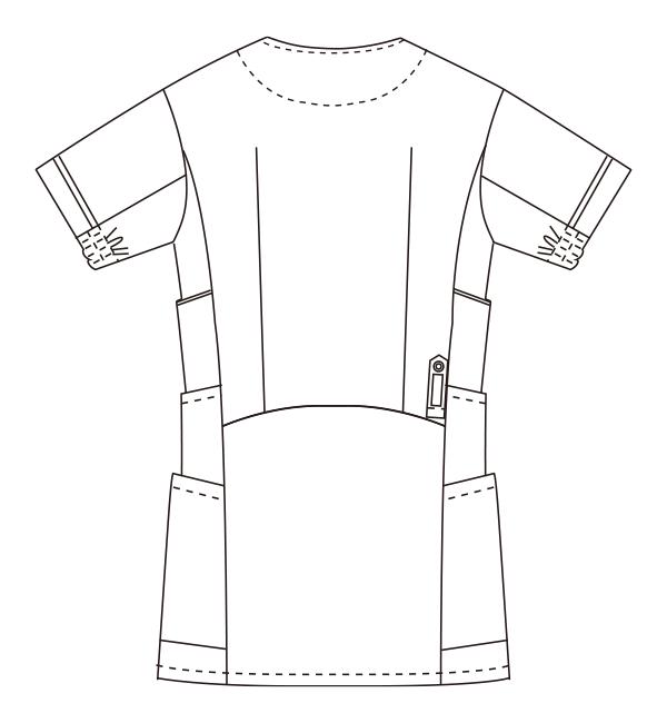 UN-0041 バックスタイルイラスト
